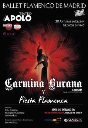 """""""Carmina Burana"""" brilla con lenguaje flamenco en el TeatroApolo"""