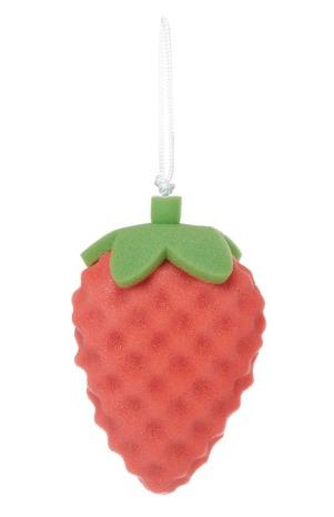 Esponja con forma de fresa 1,50€