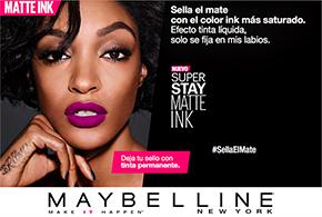 Sella el mate en tus labios con el nuevo Super Stay Matte Ink de MaybellineNY
