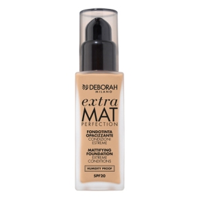 Maquillaje Extra Mat Perfection, condiciones extremas a prueba dehumedad