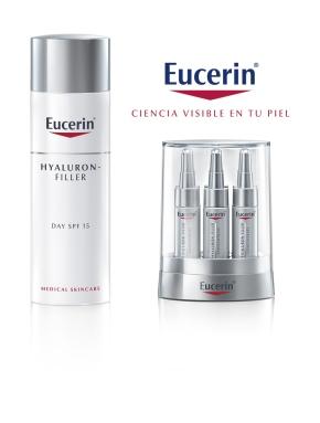 Eucerin® Hyaluron-Filler renueva su fórmula con Ácido Hialurónico 40 veces máspequeño